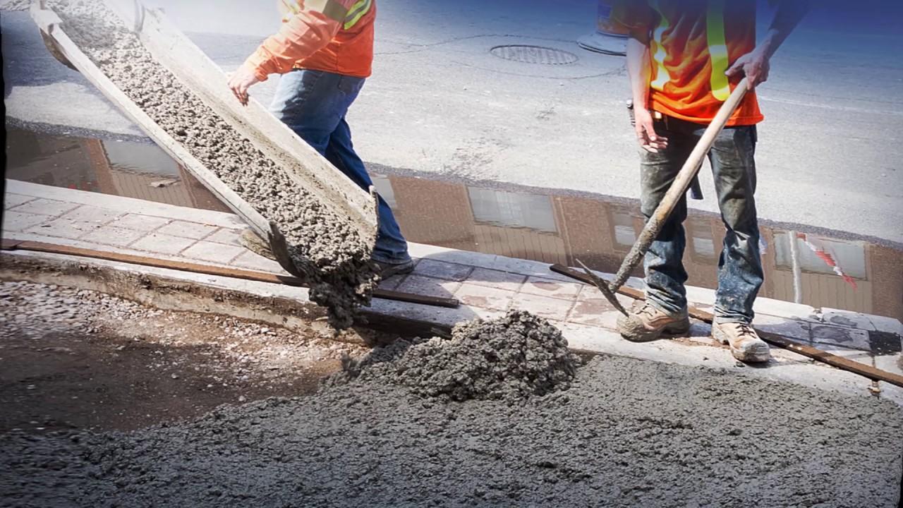 привести бетон